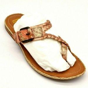 Johnston & Murphy Wren Braided Leather Sandal 8.5